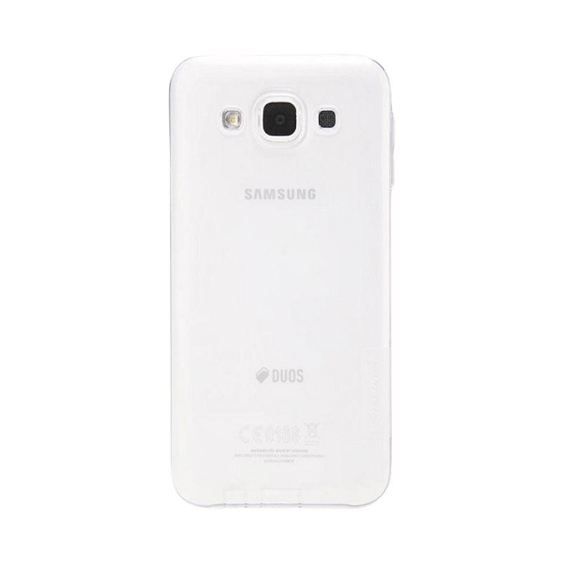 Nillkin Nature TPU Case White Casing for Samsung Galaxy E5 E500 [0.66 mm]