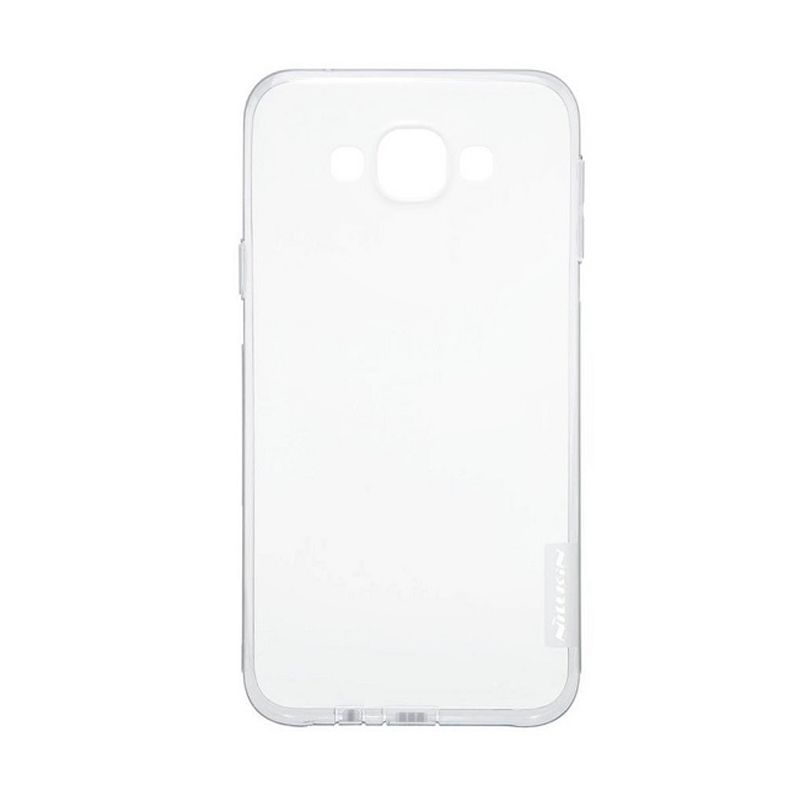 Nillkin Nature TPU Case Grey Casing for Samsung Galaxy E7 E700 [0.66 mm]
