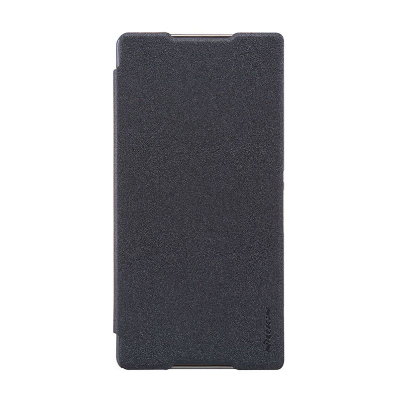 Nillkin Sparkle Grey Leather Casing for Sony Xperia C5 Ultra