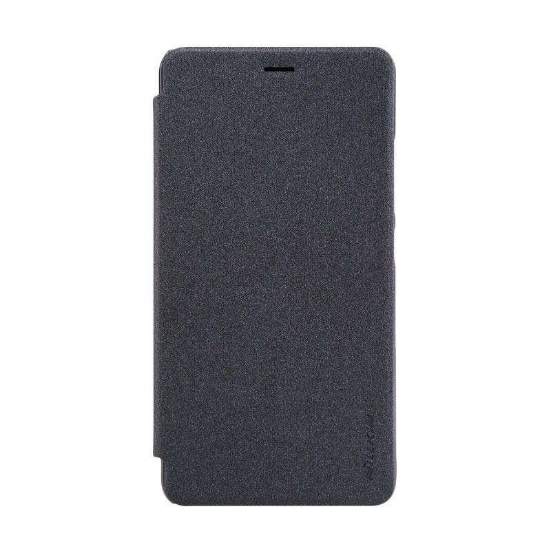 Nillkin Sparkle Leather Grey Casing for Xiaomi Redmi Note 2