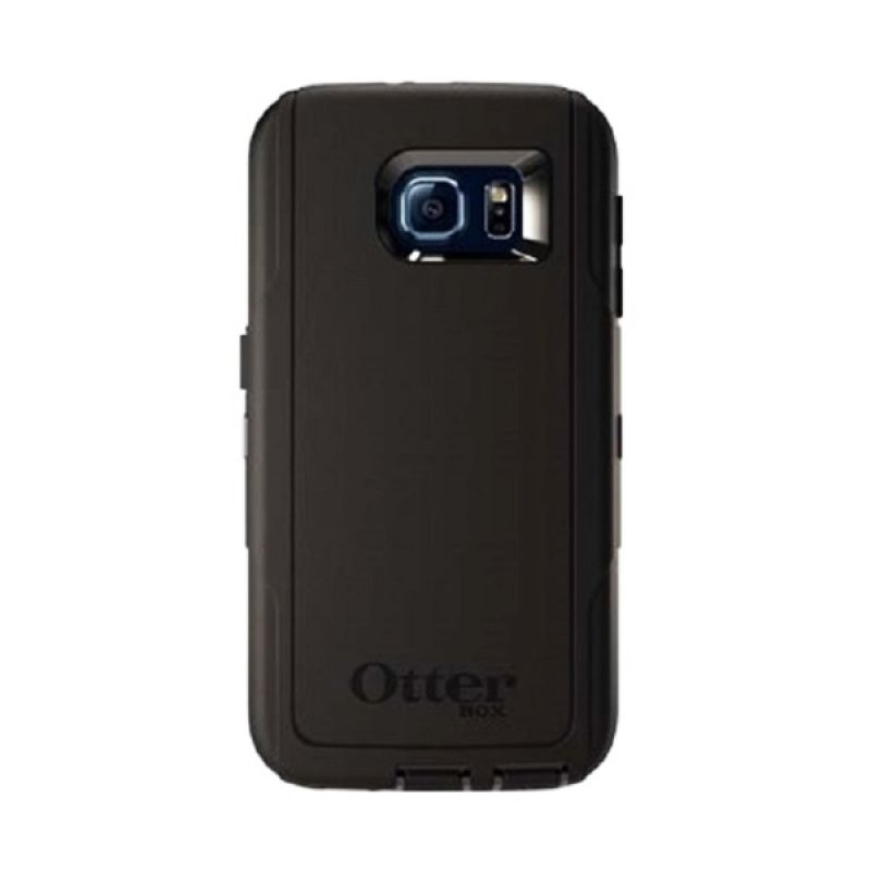 Otterbox Defender Series Rugged Protection Hitam Casing for Galaxy S6