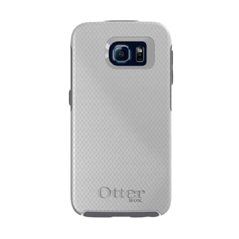 Otterbox Symmetry Series White Silver Casing for Galaxy S6