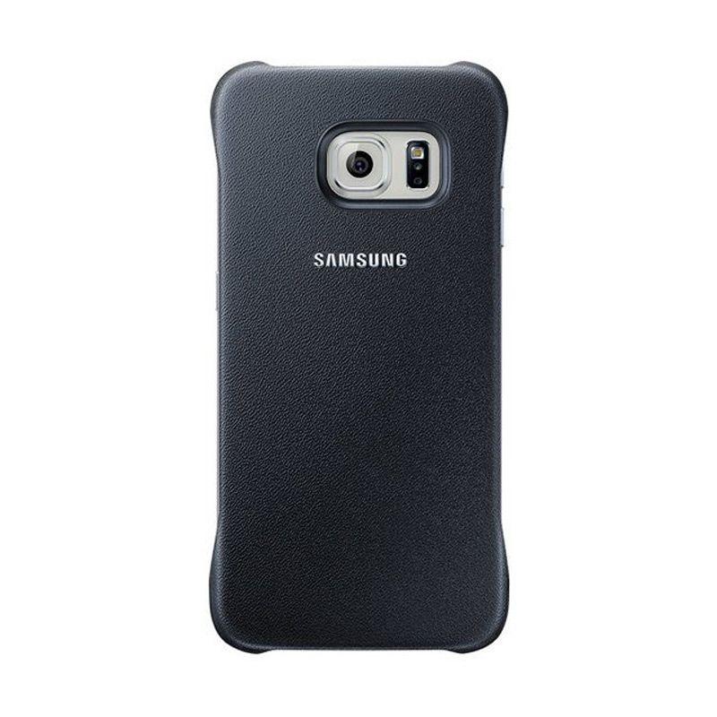 Samsung Original Protective Cover Hitam Casing for Samsung Galaxy S6 Edge