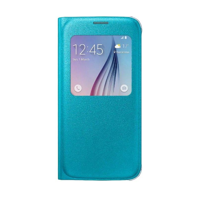 Samsung View Cover Blue Casing for Samsung Galaxy S6