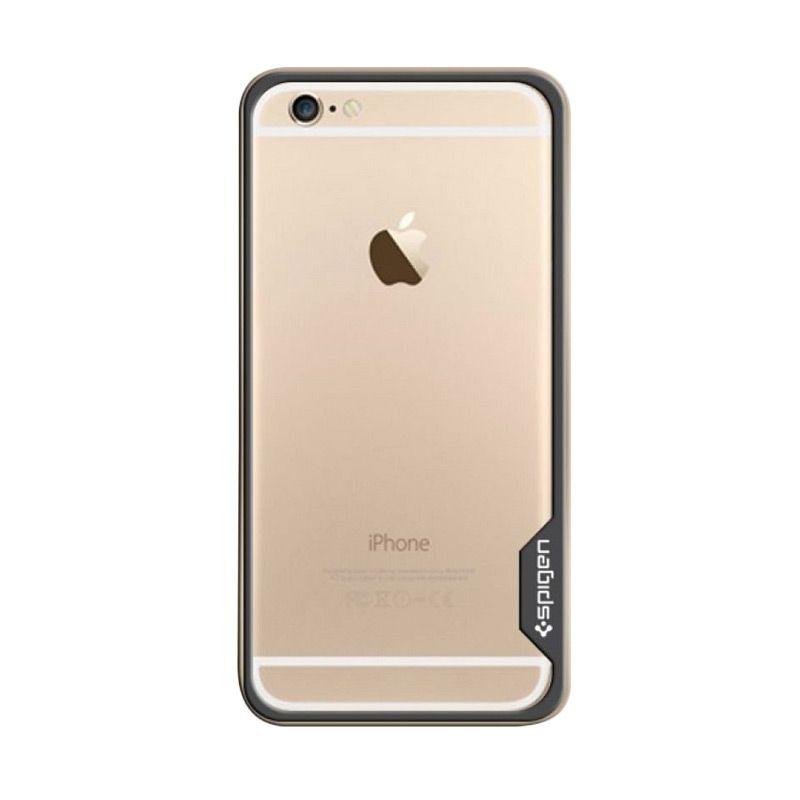Spigen Bumper Neo Hybrid Ex Metal Gold Casing for iPhone 6 Plus