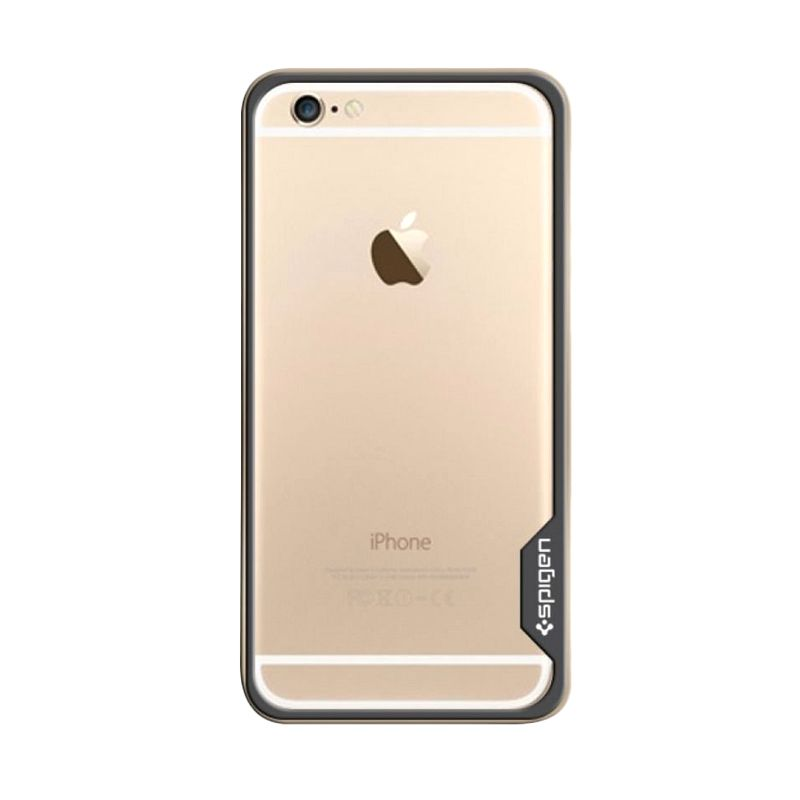 Spigen Bumper Neo Hybrid Ex Metal Gold Casing for iPhone 6