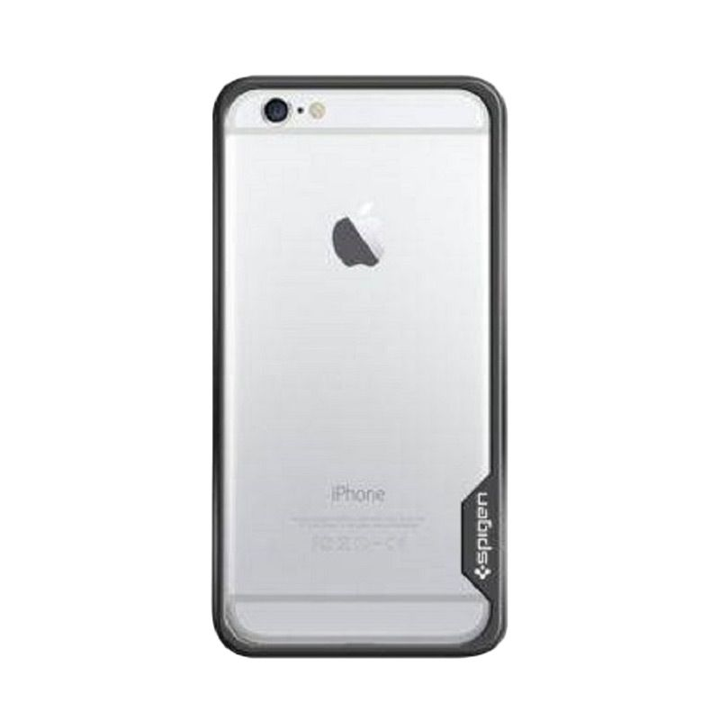 Spigen Bumper Neo Hybrid Ex Metal Grey Casing for iPhone 6 Plus