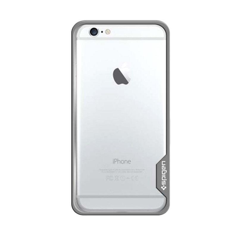 Spigen Bumper Neo Hybrid Ex Metal Silver Casing for iPhone 6