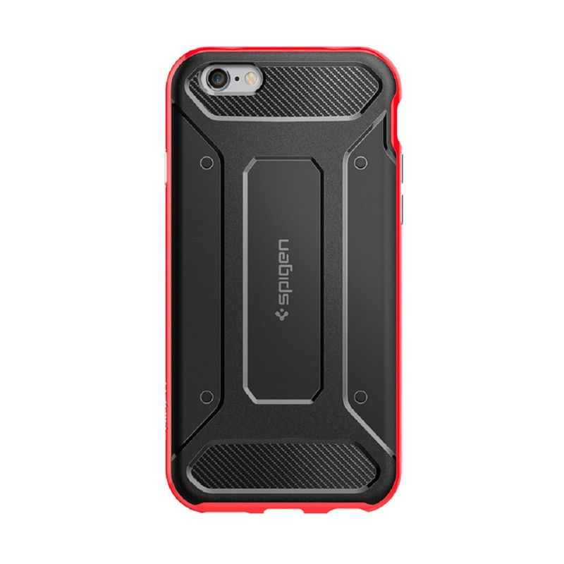 Spigen Neo Hybrid Carbon Dante Red Casing for Apple iPhone 6s Plus or 6 Plus