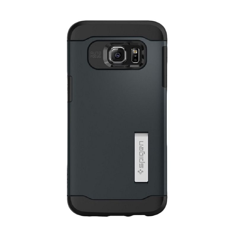 Spigen Slim Armor Gun metal Casing for Galaxy S6 Edge Plus
