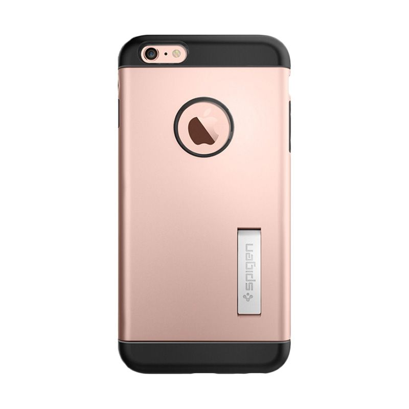 Spigen Slim Armor Rose Gold Casing for Apple iPhone 6s plus or 6 plus