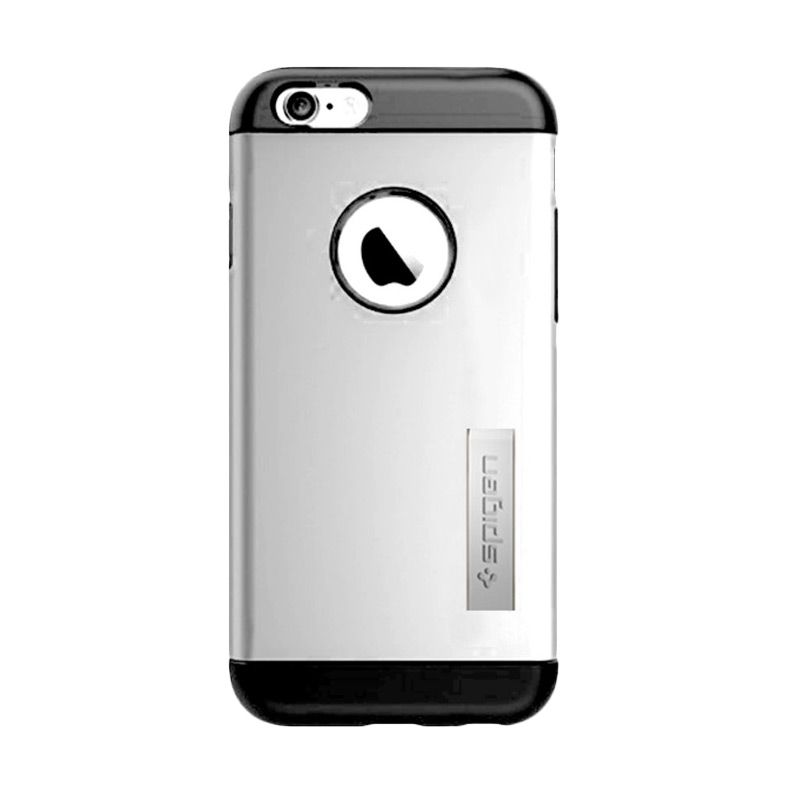 Spigen Slim Armor Silver Casing for iPhone 6 Plus