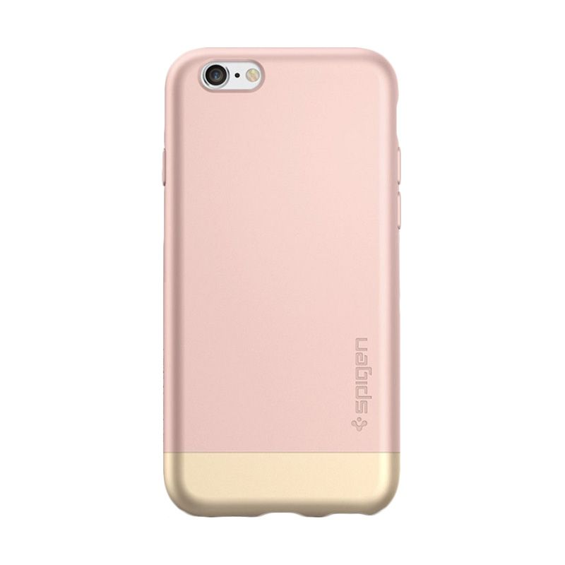 Spigen Style Armor Rose Gold Casing for Apple iPhone 6s plus or 6 plus