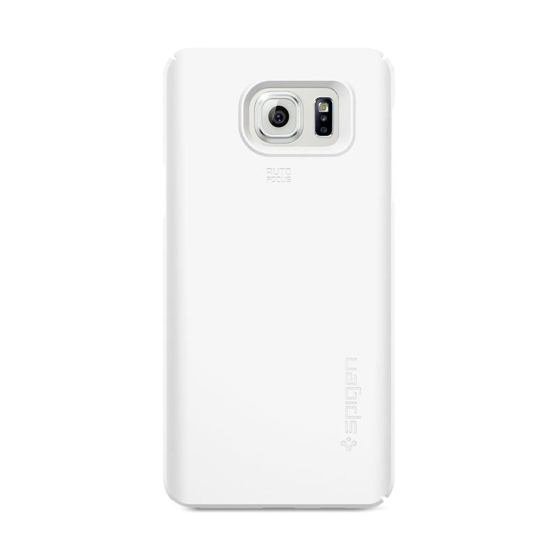 Spigen Thin Fit Shimmery White Casing for Galalaxy Note 5