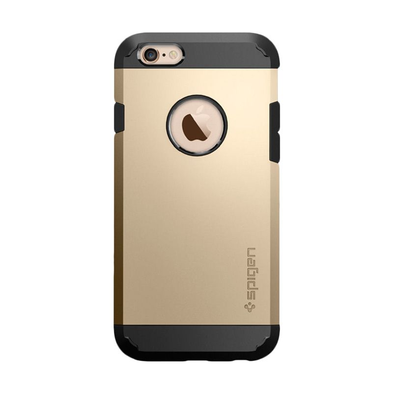 Spigen Tough Armor Champagne Gold Casing for Apple iPhone 6s Plus or 6 Plus