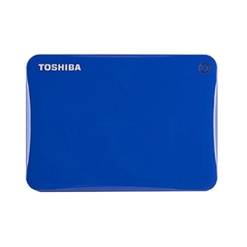 Toshiba Canvio Connect II Portable Biru Harddisk Eksternal [1 TB]