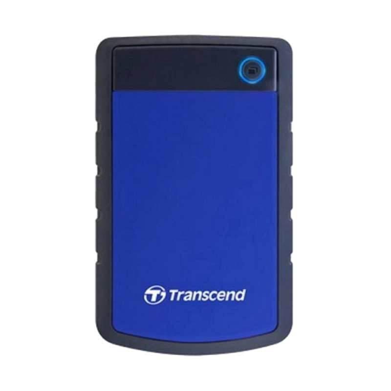 Transcend StoreJet 25H3 Blue Harddisk Eksternal [2 TB/USB 3.0]