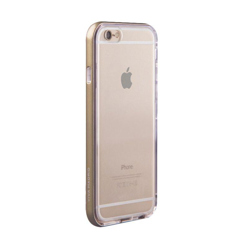 Viva Madrid Metallic Bezel Airefit Borde Gold Casing for Apple iPhone 6 plus