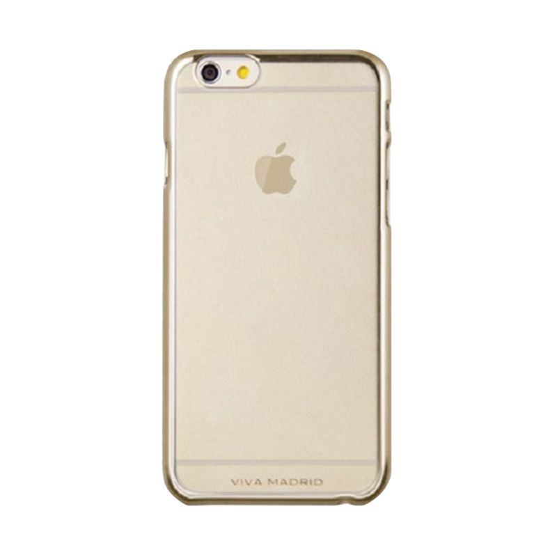 Viva Madrid Metallic Bezel Airefit Borde Gold Casing for Apple iPhone 6