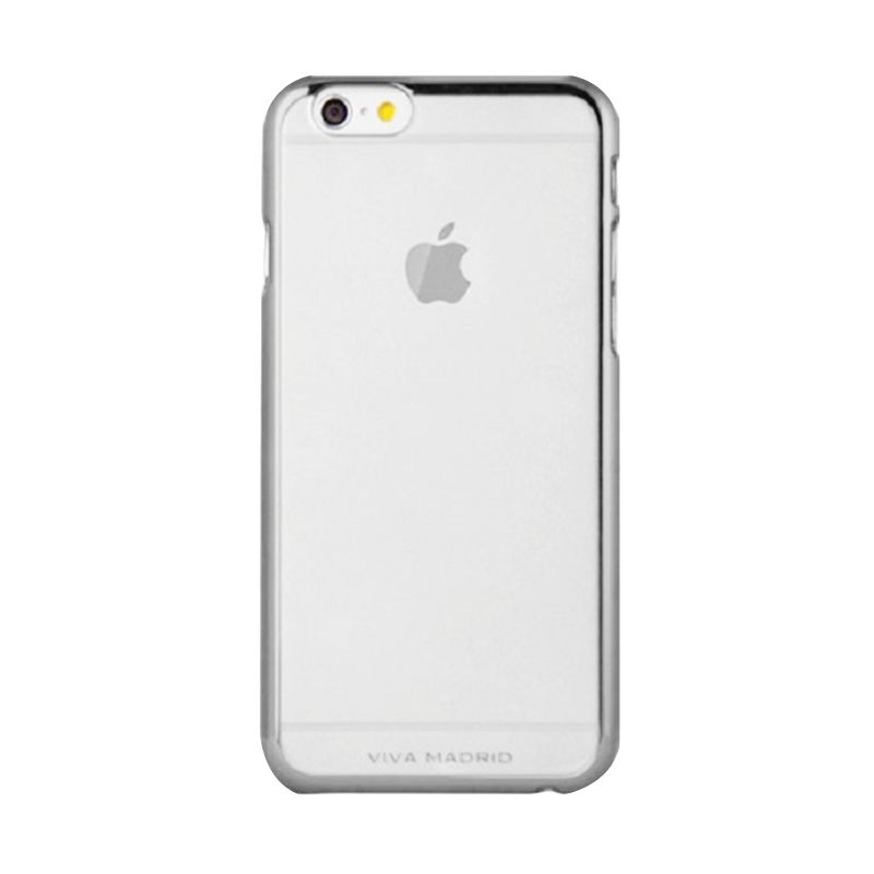 Viva Madrid Metallic Bezel Airefit Borde Grey Casing for Apple iPhone 6