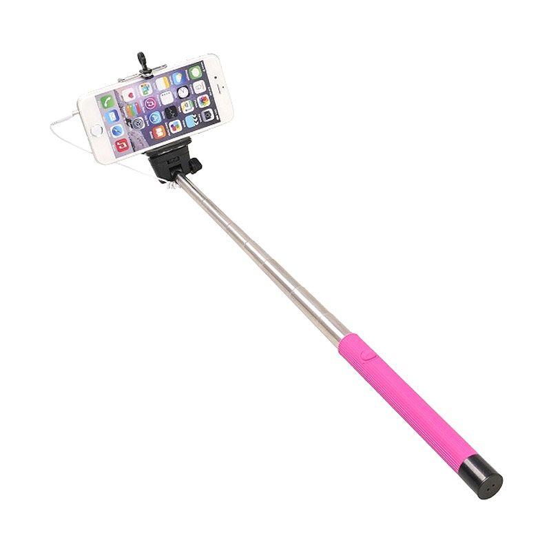 Wakaka LUXMO Cable Take Pole Z07-5S Pink Monopod