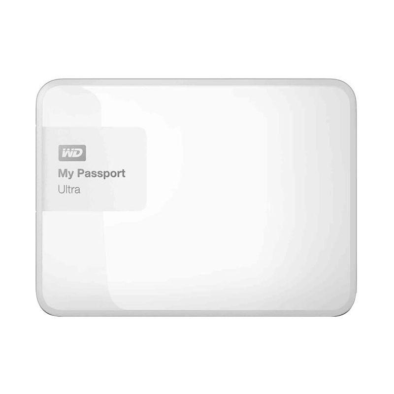 WD My Passport Ultra New White Hard Disk Eksternal [2 TB]