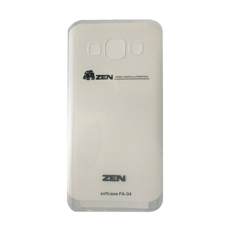 ZEN TPU Ice Softcase Putih Casing for GALAXY A3