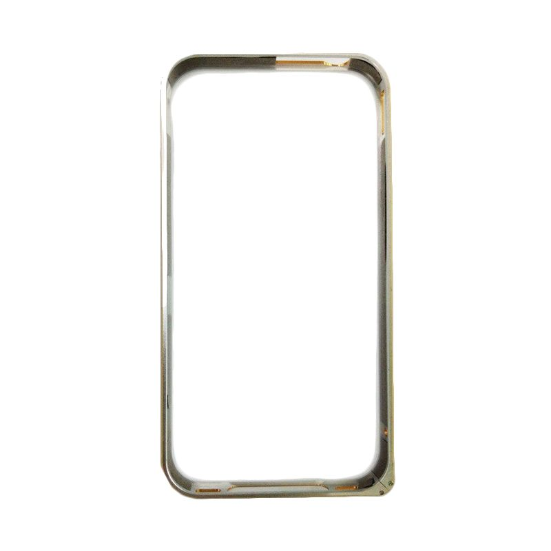 Creative Bumper Sliver Casing for iPhone 4