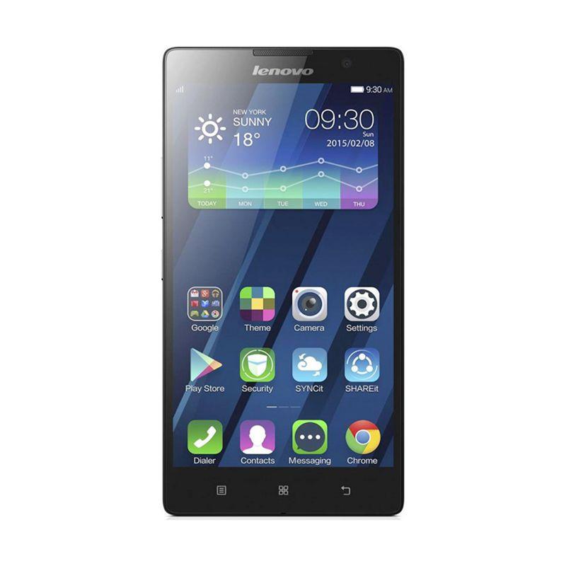 Lenovo P90 Hitam Smartphone [LTE /32 GB /2 GB RAM ]
