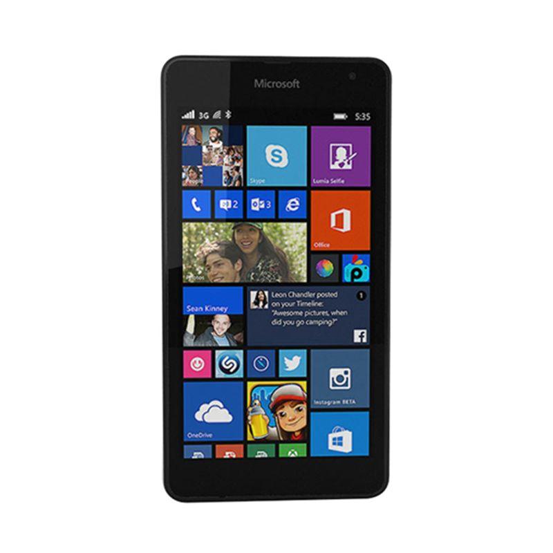 Microsoft Lumia 535 Hitam Smartphone [RAM 1 GB/Quadcore]