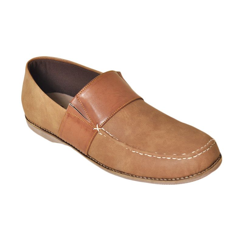 Giant Shoes Dash Brown Loafer Shoes
