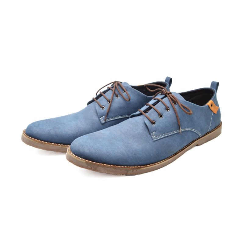 Giant Shoes Denzel Blue Sneaker Pria