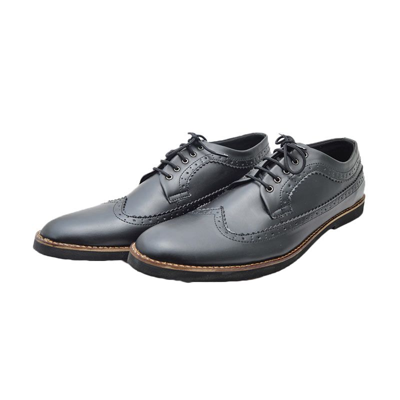 Giant Shoes Longwing Black Sepatu Formal Pria