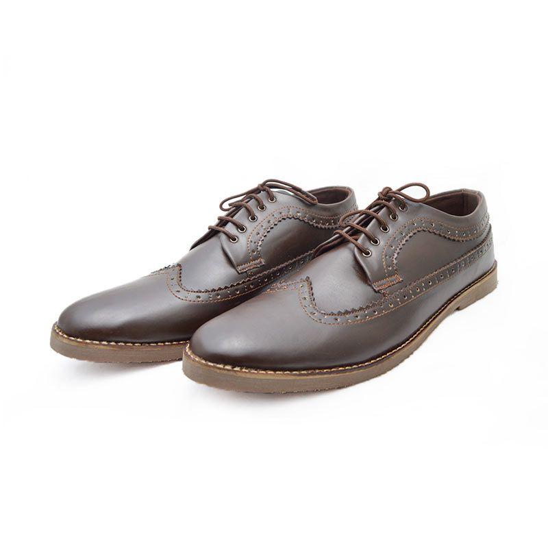 Giant Shoes Longwing Brown Sepatu Formal Pria