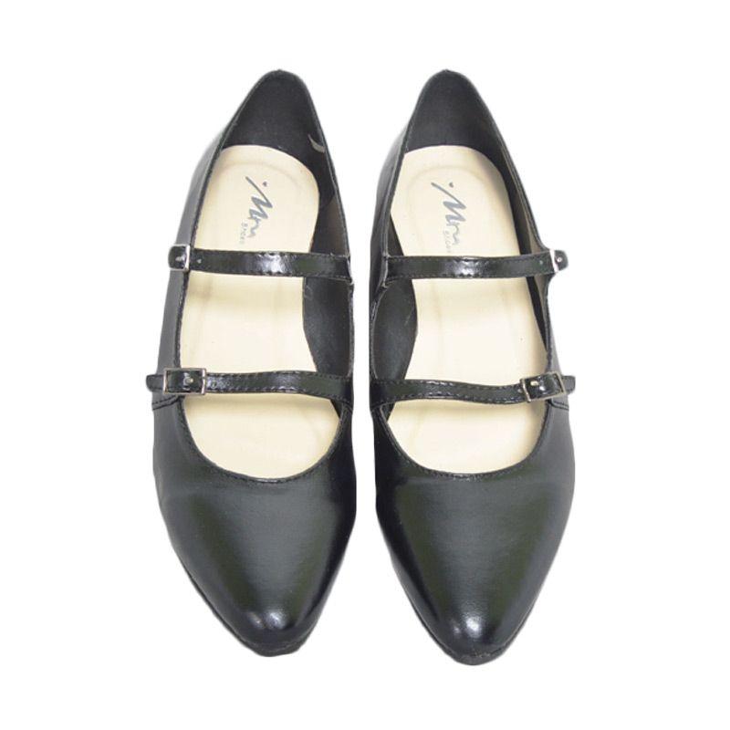 MM Shoes Carmel Black Sepatu Wanita