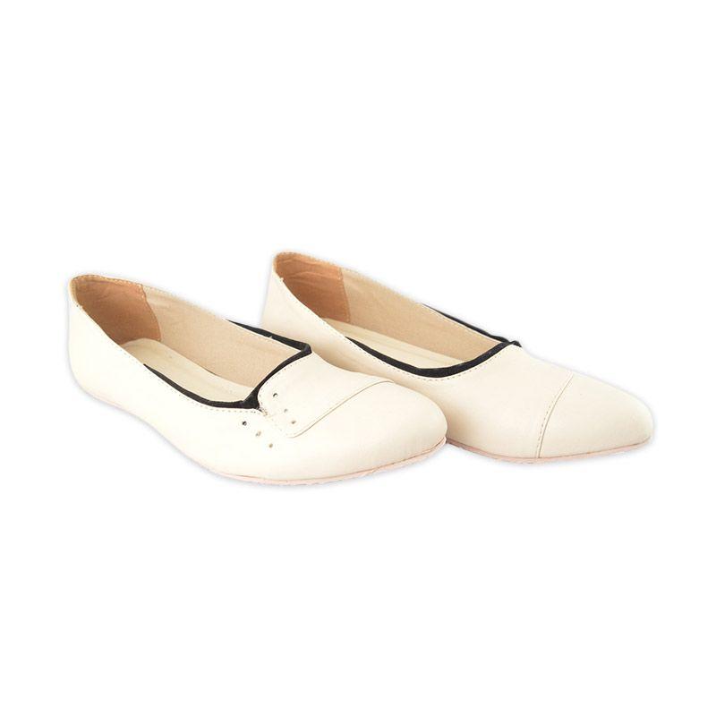 MM Shoes Karen Cream Sepatu Wanita