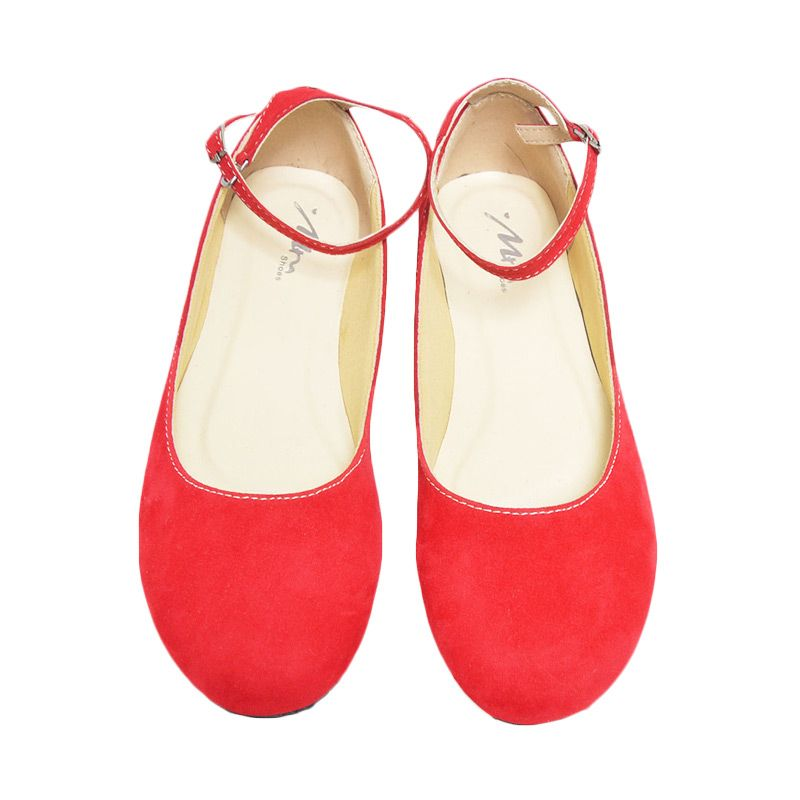 MM Shoes Sasha Red Sepatu Wanita