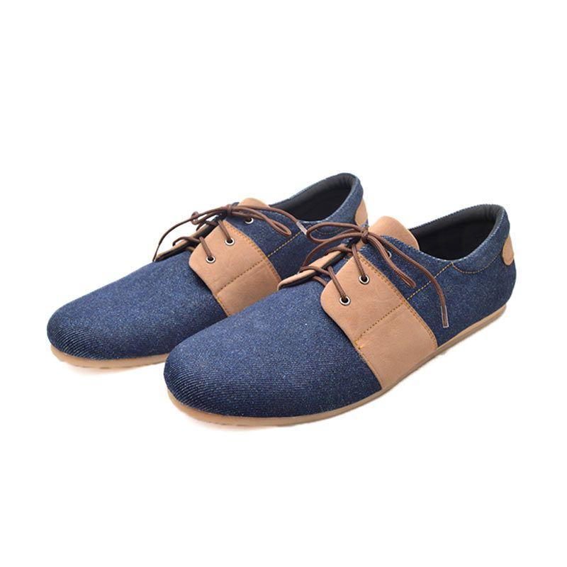 Trumph Barly Blue Sneaker Pria