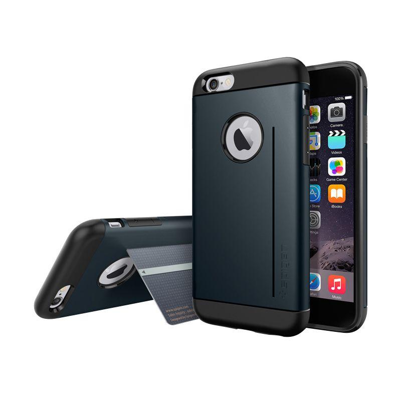 Spigen Slim Armor S Metal Slate Casing for iPhone 6 or 6S