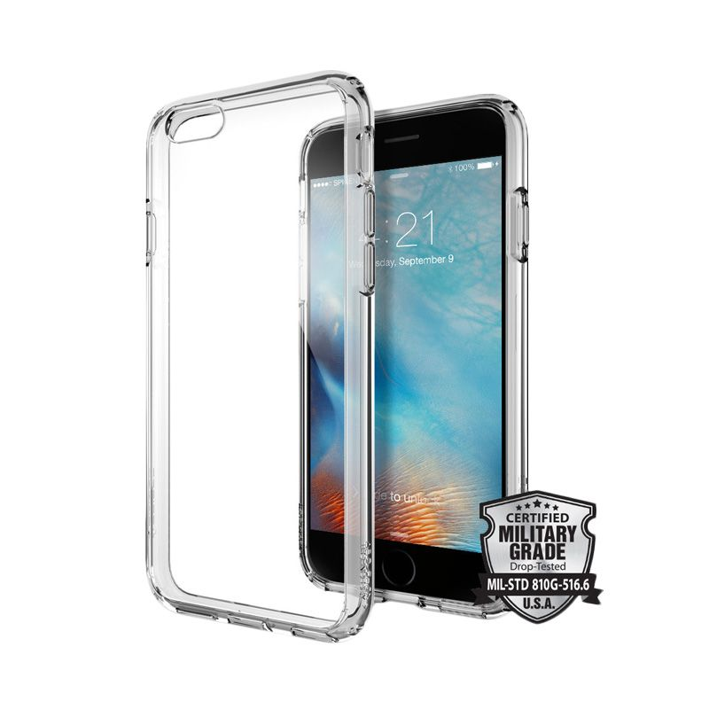 Spigen Ultra Hybrid New Model Space Crystal Casing for iPhone 6 Plus or 6S Plus