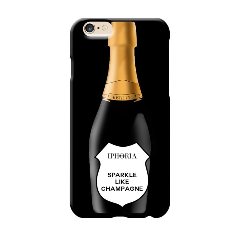 IPHORIA Mirror Sparkle like Champagne Casing for iPhone 6