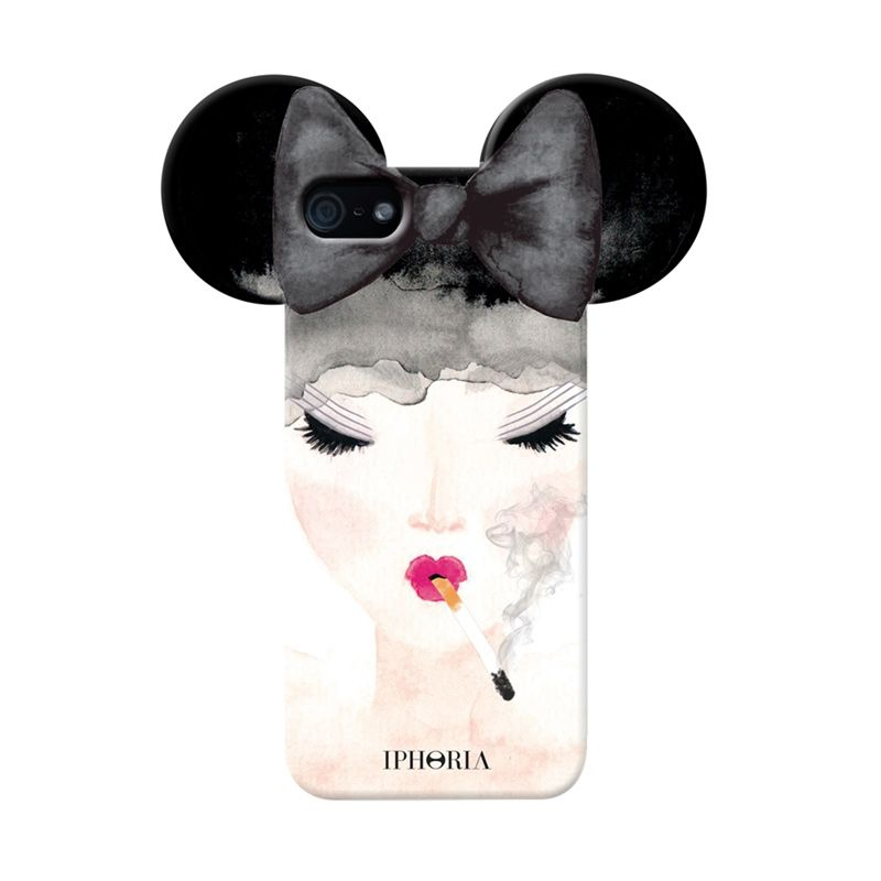 IPHORIA Smoking Mouseketeer Casing for iPhone 5/5s