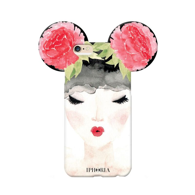 IPHORIA Smoking Mouseketeer Flowerbomb Casing for iPhone 6