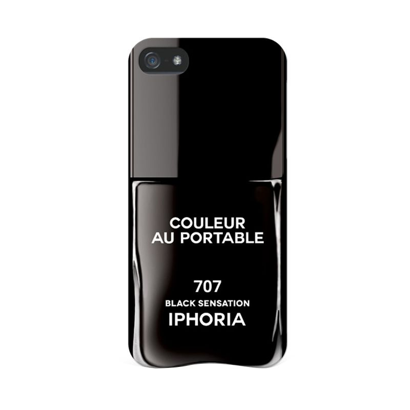IPHORIA Vernis Black Sensation Casing for Iphone 5/5s