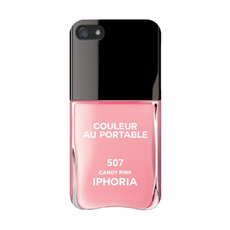 IPHORIA Vernis Candy Pink Casing for iPhone 5/5s