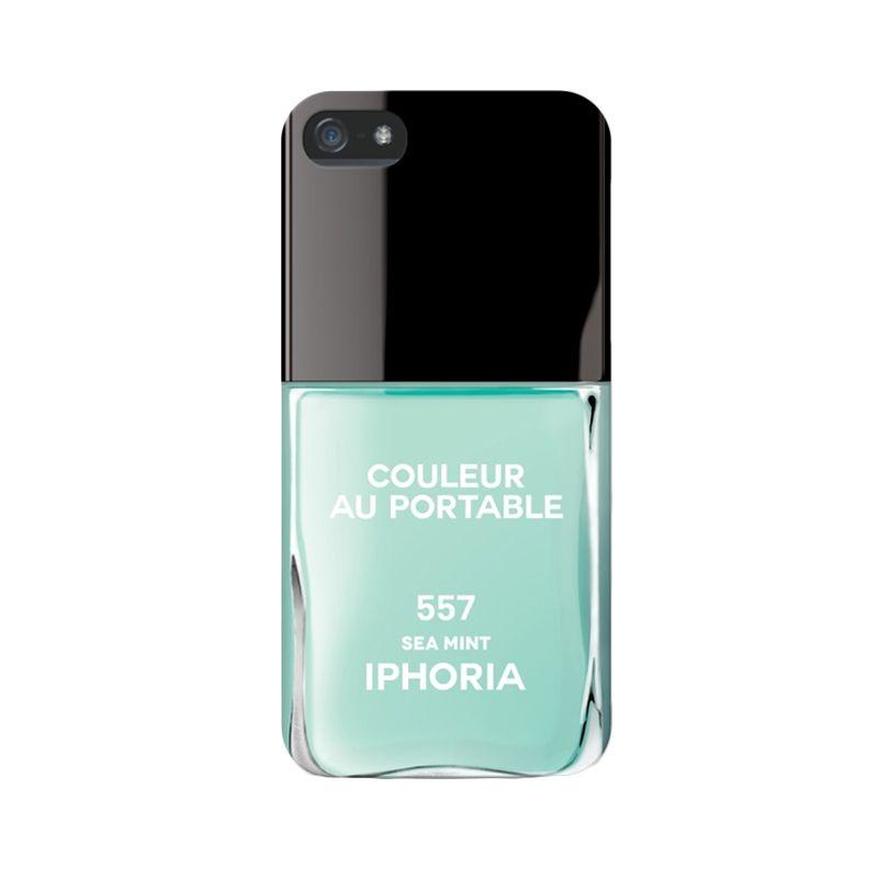 IPHORIA Vernis Sea Mint Casing for iPhone 5/5s