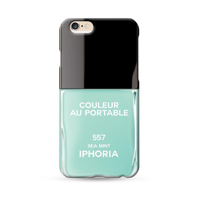 IPHORIA Vernis Sea Mint Casing for iPhone 6