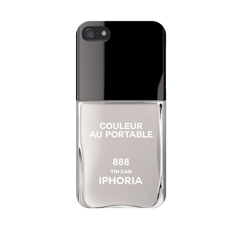 IPHORIA Vernis Tin Can Gray Casing for iPhone 5/5s