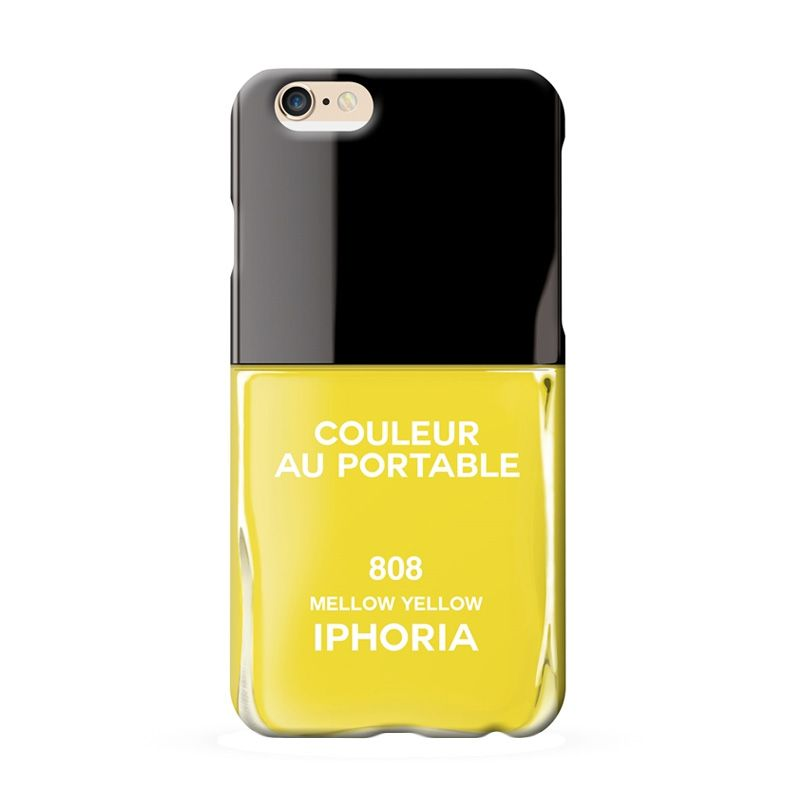 IPHORIA Vernis Yellow Mellow Casing for iPhone 6