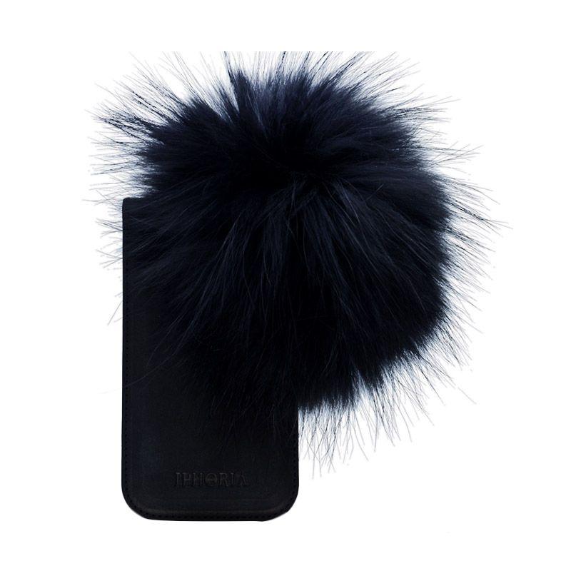 IPHORIA Raccoon Fur Black Casing for iPhone 6